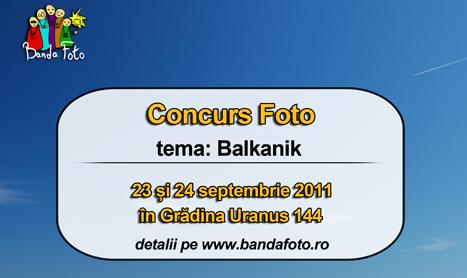 "Banda Foto lanseaza concursul ""balkanik"""