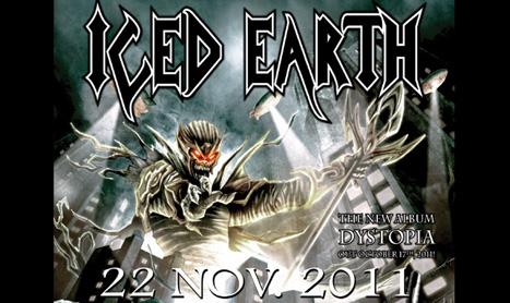 Ce pregateste Iced Earth pentru concertul din Romania