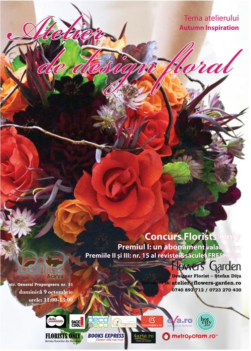 """Atelier de design floral: """"Autumn Inspiration"""""""