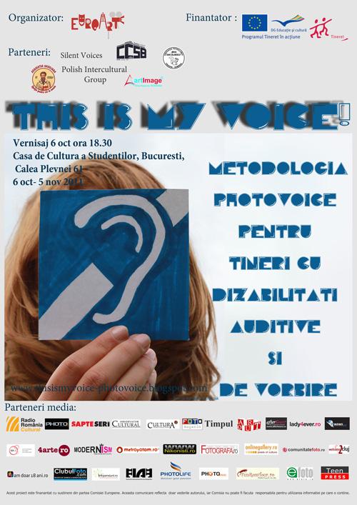 """Expozitie foto: """"This is my voice!"""""""
