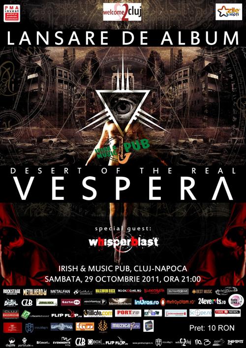Concurs Vespera cu premii in invitatii si CD-uri