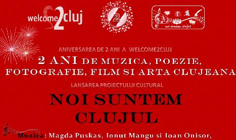 Welcome2Cluj implineste doi ani