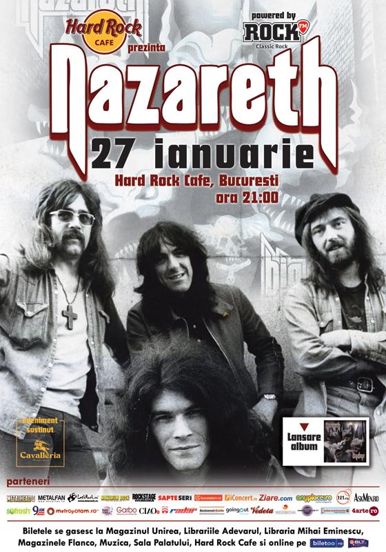 S-au suplimentat biletele cu loc la concertul Nazareth