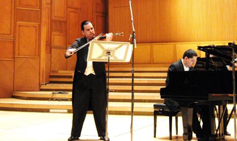 Enescu si Bartók interpretati de Antal Szalai si Jozsef Balog