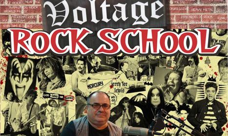 Curs de istoria rockului in Voltage Bar