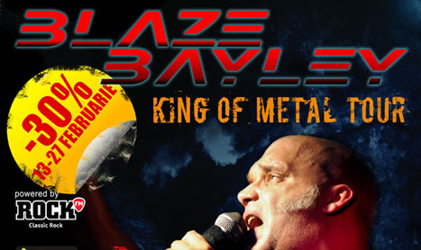 D.B Stroyer Band deschide concertul Blaze Bayley