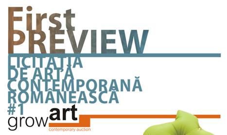 First Preview – Licitatia de arta contemporana GrowArt #1