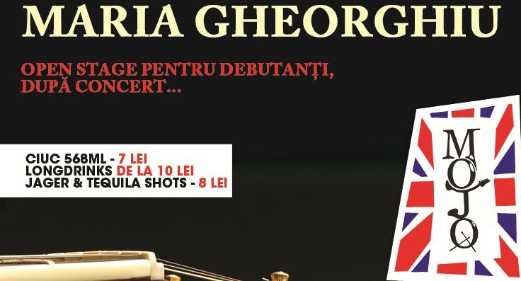 Maria Gheorghiu concerteaza pe 28 februarie in Mojo