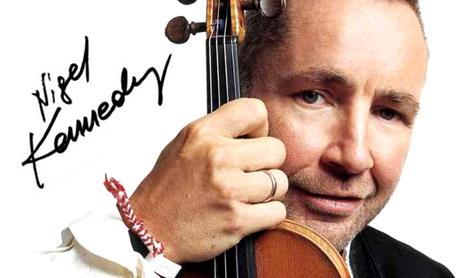 Nigel Kennedy vine in Romania cu vioara Guarneri Lafont