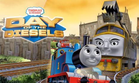 Thomas si prietenii sai: Ziua locomotivelor Diesel