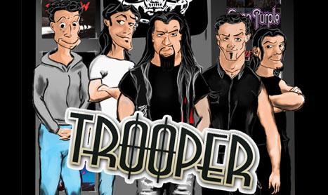 Trooper canta pe 3 martie in Hard Rock Cafe