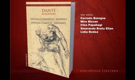 """Humanitas lanseaza volumul bilingv """"Divina Comedie. Infernul"""""""