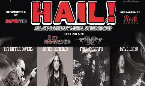HAIL! canta pentru prima oara in Romania