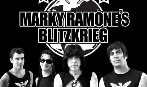 Marky de la The Ramones concerteaza in Bucuresti