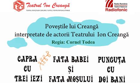 Povestile lui Creanga interpretate de actorii Teatrului Ion Creanga