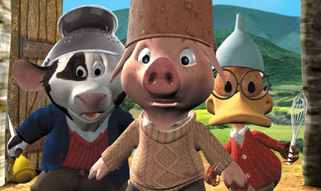 Piggley Winks isi povesteste copilaria la Minimax