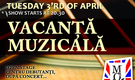 Concert Vacanta Muzicala in Mojo