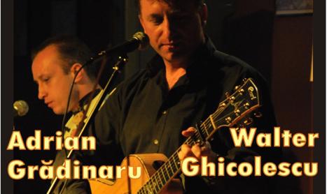 Concert Walter Ghicolescu si Adrian Gradinariu in Sinner's