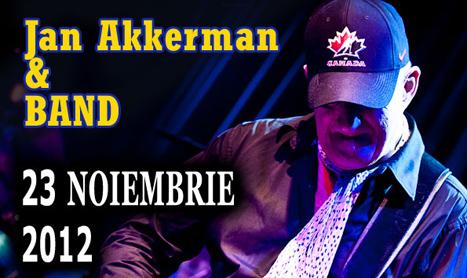 Chitaristul Jan Akkerman concerteaza in Romania pe 23 noiembrie