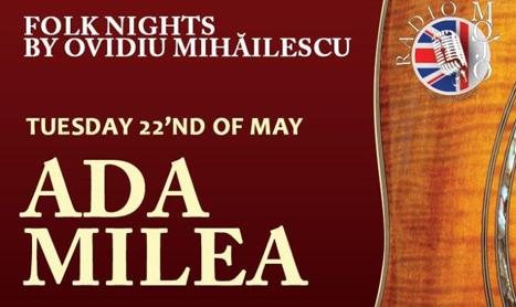 Ada Milea si Pro Folk canta in Mojo