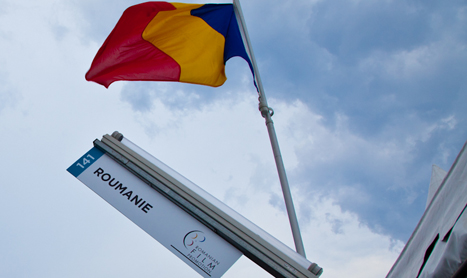 Stand dedicat Romaniei la Cannes