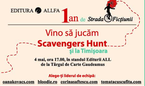 Scavengers Hunt se muta la Timisoara