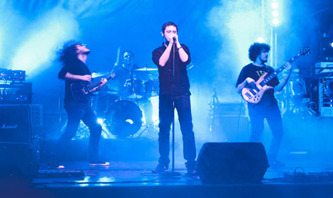 White Walls canta la Ghost Fest 2012