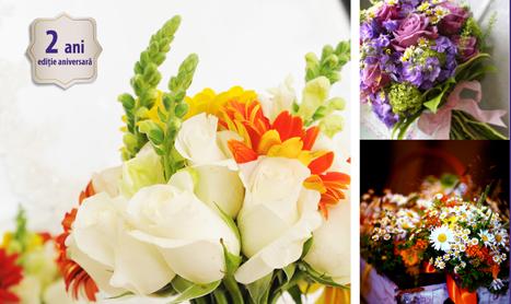 Atelierele de design floral implinesc doi ani