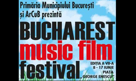 BUCHAREST MUSIC FILM FESTIVAL incepe in 8 iunie