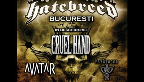 Hatebreed concerteaza in Romania pe 15 iulie