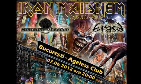 Iron Maidnem concerteaza saptamana aceasta in Bucuresti