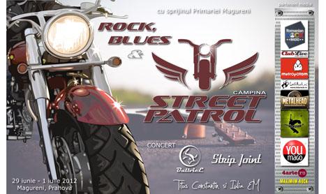 Rock, Blues & Street Patrol incepe in 29 iunie