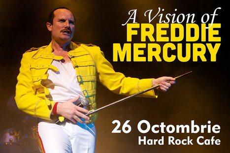 """Show-ul """"A Vision of MERCURY"""" are premiera in Romania peste trei luni"""