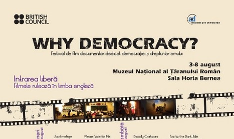 Festivalul de film WHY DEMOCRACY? incepe in 3 august