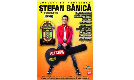 "Stefan Banica pleaca in turneul ""Altceva"""