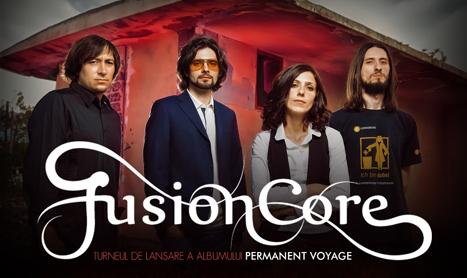 """FusionCore isi promoveaza albumul """"Permanent Voyage"""" printr-un turneu"""