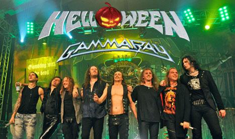 Helloween si Gamma Ray vin impreuna in Romania anul viitor