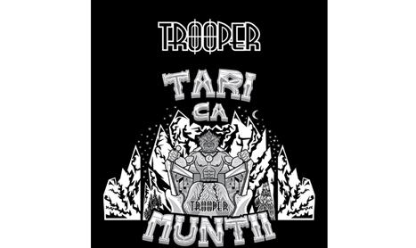 TROOPER prezinta afisul concertului aniversar Tari ca muntii