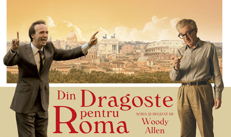 """Sa mergi la film """"Din dragoste pentru Roma"""""""