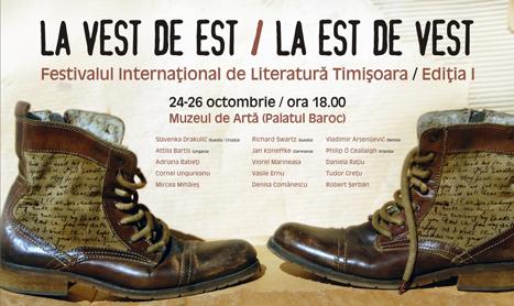 Festivalul International de Literatura de la Timisoara ia startul pe 24 octombrie
