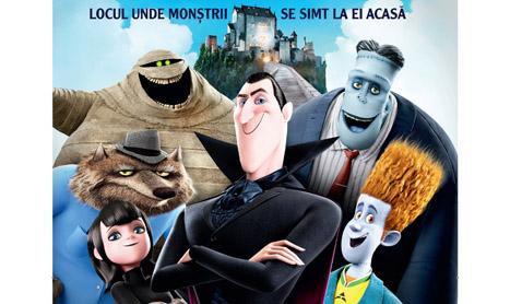 """""""Hotel Transylvania"""" intra in cinematografele noastre pe 19 octombrie"""