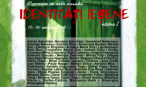 "Expozitie colectiva de arta vizuala: ""Identitati iesene"""