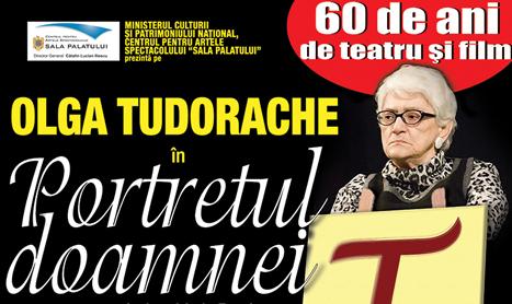 Olga Tudorache sarbatoreste 60 de ani de cariera