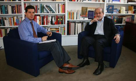 Interviu cu Salman Rushdie la TVR1