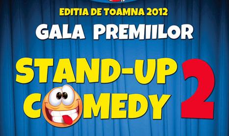 A doua editie a Galei Premiilor Stand Up Comedy se muta la Patria