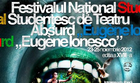 Eugene Ionesco este omagiat la Festivalul National Studentesc de Teatru Absurd
