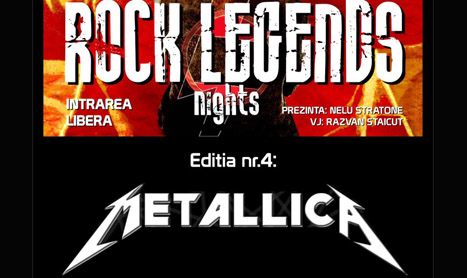 Rock Legends Nights: Metallica