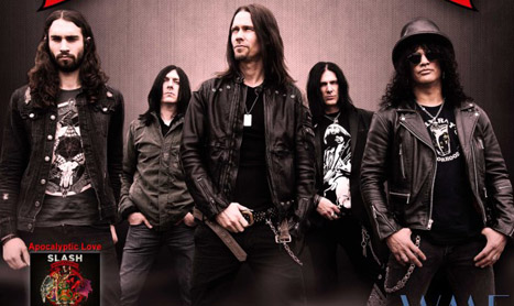 Slash concerteaza in Romania pe 5 februarie 2013