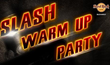 Warm-UP Party-ul Slash le poate aduce cumparatorilor de bilete autograful artistului