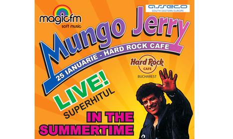 Concertul Mungo Jerry se vede doar de la masa